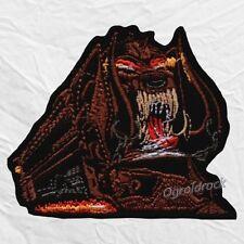 Motorhead Orgasmatron Logo Embroidered Patch Lemmy Kilmister Warpig Train Rock