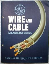 Canadian General Electric Wire & Cable Manufacturing ASBESTOS Deltabeston 1948