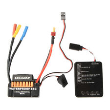 60A Brushless Regler 2-3S ESC 5.5V BEC Programmierkarte für 1/10 Auto Boot RC697