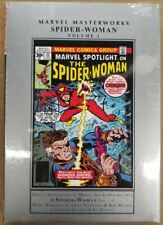 Spider-Woman Volume 1 Collects #1-8 & More Marvel Masterworks HC New Sealed