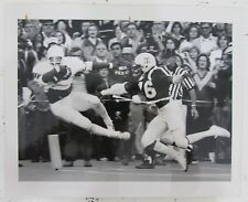 Earl Campbell 1977 Original 8x10 Wire Photo 4 TDs vs. Aggies 125330