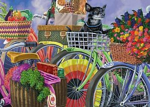 Bicycle Group, Large Format 300 piece Puzzle by Ravensburger