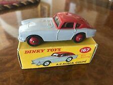 Vintage Dinky Toys / Mint + Box / 2 Tone A.C. Aceca Coupe / MIB No. 167