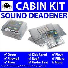 Heat & Sound Deadener Chevy Corvair 1960 - 1969 Cabin Kit 34782Cm2 zirgo cool