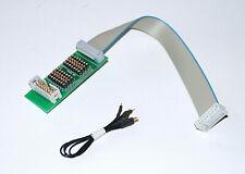 Prüf Adapter  14 pol. Flachkabel , Pfostenverbinder , Wannenstecker 230461-G