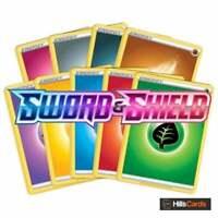 Pokemon Sword & Shield Basic Energy Bundle 45 Cards (5 of Each Type) TCG Set