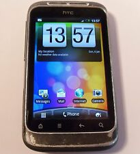 HTC Wildfire S Black (Unlocked) Smartphone Mobile PG76100