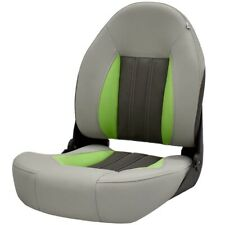 Lowe Boat Folding Fishing Seat   Tempress Probax Gray Charcoal Green