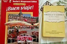 GGENCOE SPANISH 1 Buen Viaje (Multimedia Edition) & ORTEGA Y GASSET - Paginas
