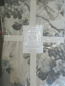 NWT 4 Williams Sonoma Grape Toile Placemats Set OF 4 Decor NEW CHARCOAL IVORY