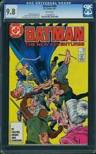 Batman # 409 US DC 1987-highest CGC graded copy! CGC 9.8 MINT