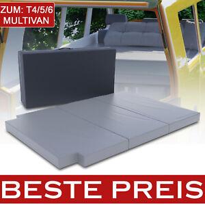 Auto Schlafauflage Matratze Klappmatratze passend  VW T4 T5 T6 Bus Multivan