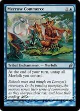 MERROW COMMERCE Lorwyn MTG Blue Tribal Enchantment — Merfolk Unc