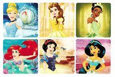 12 Disney Princess Stickers Kid Reward Party Goody Loot Bag Filler Favor Supply