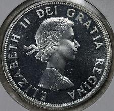 Beautiful Uncirculated Proof Like 1964 Canada Silver Dollar!!