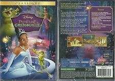 DVD - WALT DISNEY : LA PRINCESSE ET LA GRENOUILLE / NEUF EMBALLE - NEW & SEALED
