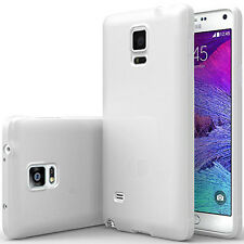 Samsung Galaxy Note 4 Case Bumper Shock-Absorbing Cover + REAL Glass Screen Film