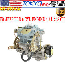 AMC ENGINE Carburetor Replacement for JEEP BBD 6 CYL ENGINE 4.2 L 258 CU CJ7 CJ5