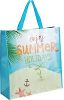 Extra Large Shopping Bag Tote Picnic Bag Holiday Beach Bag Shopper 4 Designs