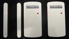 EASYmaxx Security  Tür-Fensteralarm Set  2er Set Alarmanlage Fernbedienung