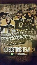 Boston Bruins 2015~2016 Posters Full Set