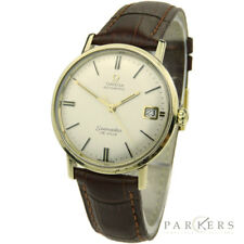 OMEGA SEAMASTER DE VILLE VINTAGE 9CT GOLD AUTOMATIC WRISTWATCH DATING CIRCA 1969