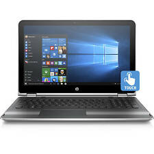 "HP 15-bk020wm 15.6"" Touch Screen Laptop i5-6200U 2.30GHz 8GB RAM 1TB HDD Win10"