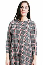 Women's Plus Size Striped Viscose Semi Fitted Tops & Shirts