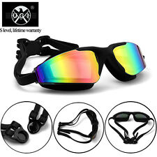 Ugi Anti-fog UV Mirror Waterproof Race Swim Swimming Goggles Glasses Adjustable