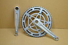 Pédalier Stronglight alu 93 filetage 14x125 170mm denture 52x42 Vintage 70s 80s