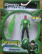 Green Lantern Supercharged Sinestro Jumbo Drill DC Beyond Action Figure NEW