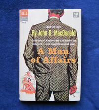 JOHN D. MACDONALD A Man of Affairs - 1st Edition Paperback Original