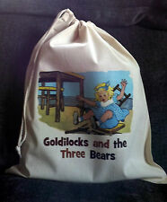 Goldilocks and the Tres Bears Vacío Cuento Saco & Teaching Recursos CD NUEVO