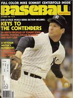 1980, (Oct.)  Baseball  Magazine, Tommy John, New York Yankees