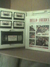 HELLO AMERICA Unit 4 - ESL Learn ENGLISH Course HELLO AMERICA #4 VHS Tapes +
