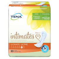 "TENA Intimates Ultimate Pant Liner, Heavy 16"" Bladder Pads, 54305 - Pack of 33"