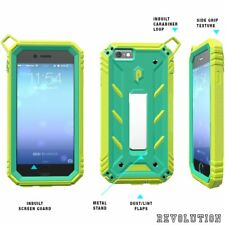 [20pcs/lot] For iPhone 6S /6 Poetic【Revolution】Shockproof TPU Case Cover Teal