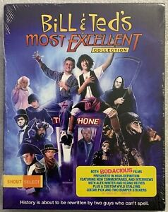 NEW BILL & TEDS MOST EXCELLENT COLLECTION BLURAY 3 DISC SET RAREOOP SHOUT SELECT