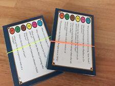 Trivial Pursuit 50 Question cards  GENUS  EDITION 1983  300 QUESTIONS