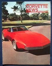 Prospekt brochure Corvette News June / July 1976 (USA)