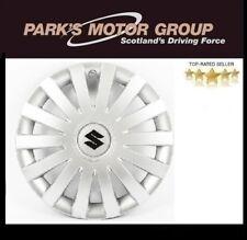 """Suzuki Genuine Set Of 4 16"""" Wheel Trim Cover Hub Caps in Silver 990E0-86G41-000"""