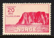 Norway — Scott B2 — 1930 North Cape 20o + 25o — Mnh — Scv $70.00