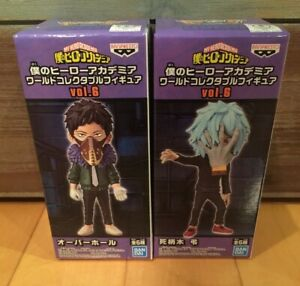 Banpresto My Hero Academia WCF World Collectable Figure Vol.6 Lot of 2 Shigaraki