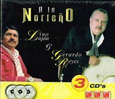 Lino Lujan y Gerardo Reyes a lo norteña 3CDS Nuevo
