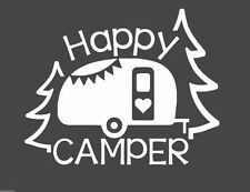 Happy Camper Decal for 20oz or 20oz Insulated Cup ***AVAILABLE 20 COLORS***