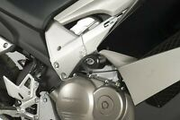 R&G Black Crash Protectors - Aero Style for Honda Crossrunner 2011