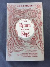THE RETURN OF THE KING. FIRST AMERICAN EDITION BY J.R.R. TOLKIEN