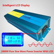 2000W / 4000W Peak Pure Sine Wave power inverter DC 24V TO AC 220V - 240V