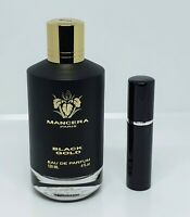 Mancera - Black Gold - 5ml SAMPLE Decant Glass Atomizer