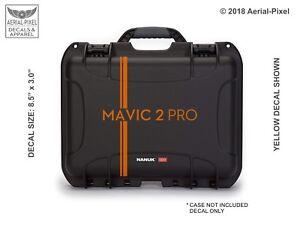 DJI Mavic 2 Pro Drone Case Decal  for Nanuk Pelican GoProfessional GPC & More